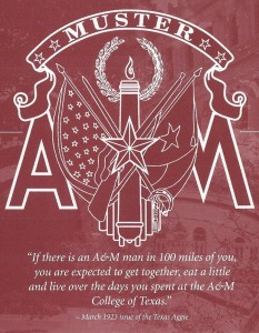 Aggie Muster 1